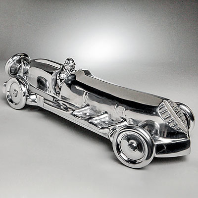 POLISHED METAL CAR